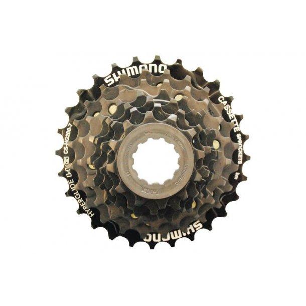 Kassette Shimano 7 gear  CS-HG200 12-28