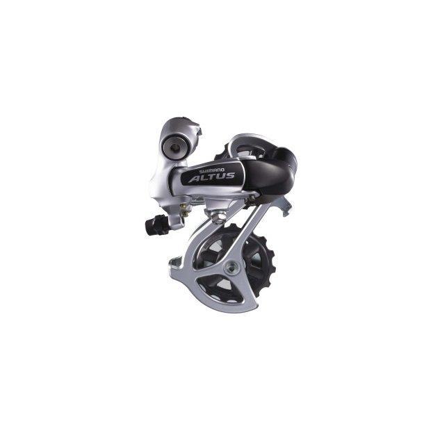 Bagskifter Shimano Altus M310 3 x 7 gear eller 3 x 8 gear Sølv