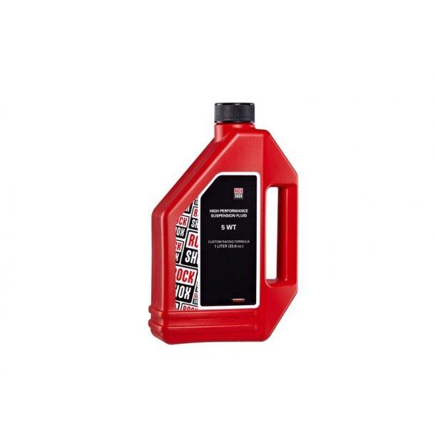 Rockshox forgaffel olie, 5 WT 1 liter