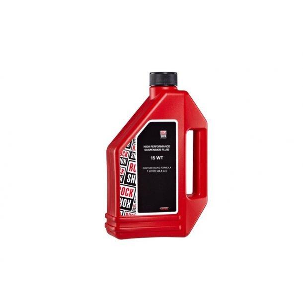 Rockshox forgaffel olie, 15 WT 1 liter