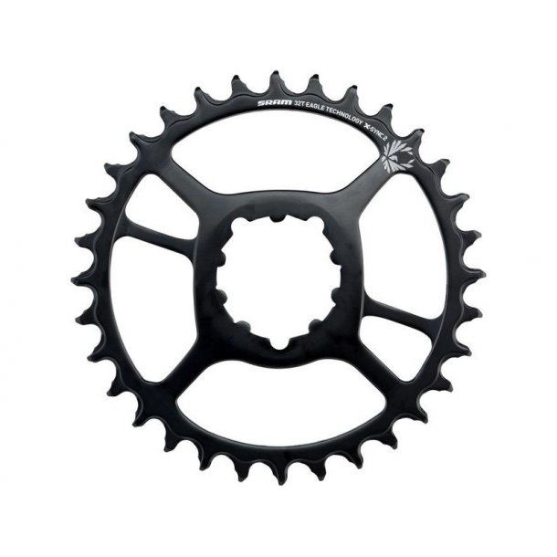 Sram klinge Direct Mount Singlespeed (vælg 30, 32, 34 tands) Stål