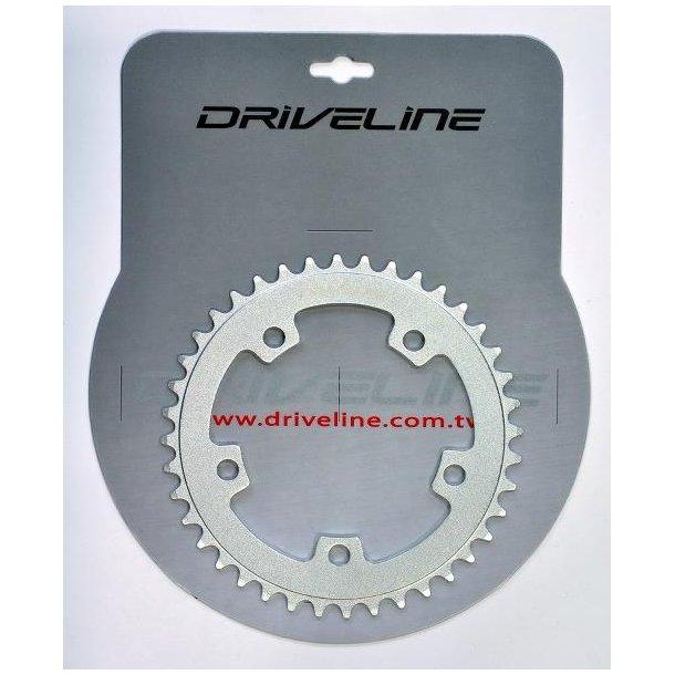 Klinge Drive Line ø110 34t 5hul sølv  5182 alu