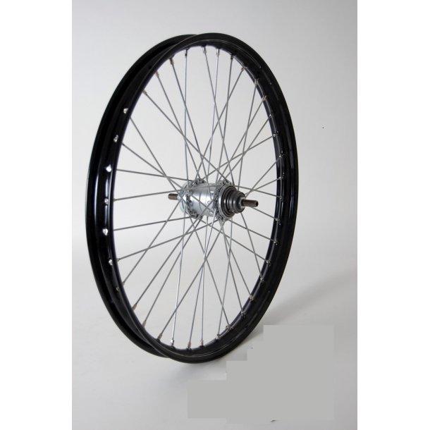 Baghjul 23 x 2(19 x 2 ) Transport cykel / Long John 3g Nexus sort