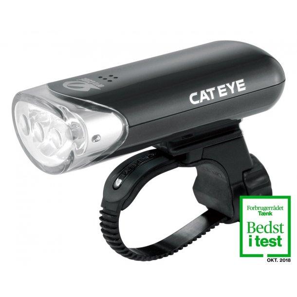 Forlygte Cateye HL-EL135N Sort 3 LED 150+ Candela Inkl. Batteri