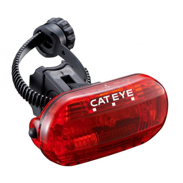 Baglygte Cateye Omni3 TL-LD135G til sadelpind eller skråstiver