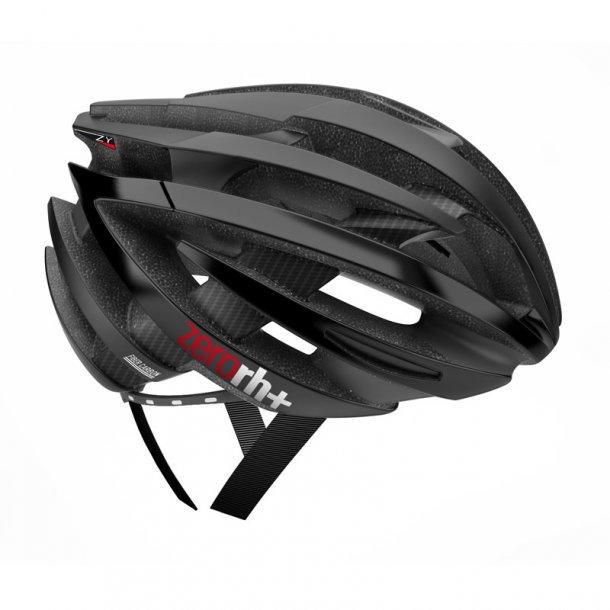 RH+ ZY Cykelhjelm carbon fiber 58-62 mat sort