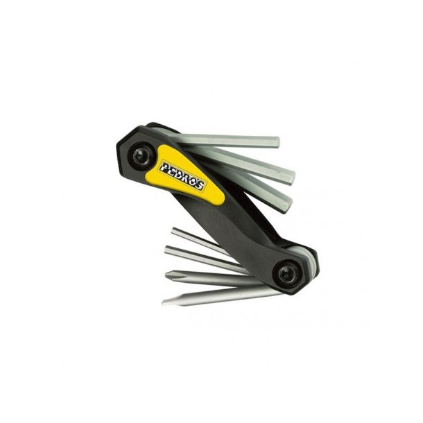 Pedros mini værktøj med umbrakko nøgler og skruetrækkere