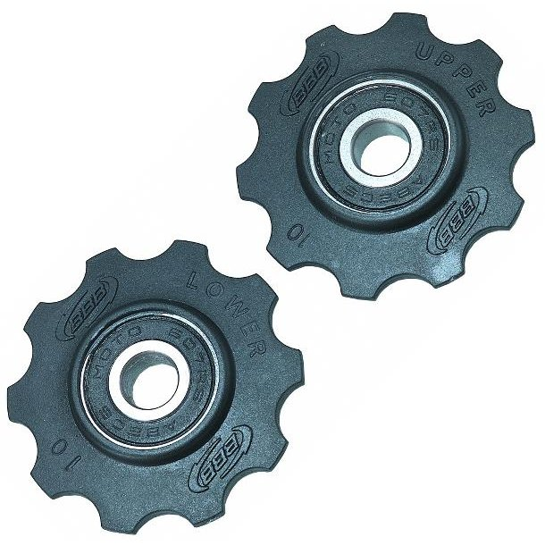 Pulleyhjul / Kædeførerhjul BBB 10t sort  BDP-01 SHIMANO 7-8/CAMP 2000  8-9-10sp