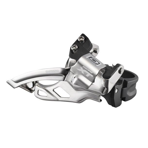 Forskifter Shimano XT Dobbelt Sølv FD-M785 34.9mm CB TS DP 38-44T