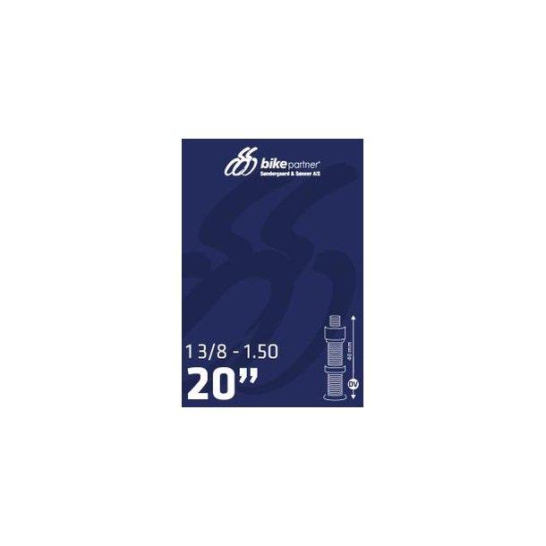 Slange 20x1 3/8 DV40 28/40-406 / 20x1,10-1,50 BikePartner