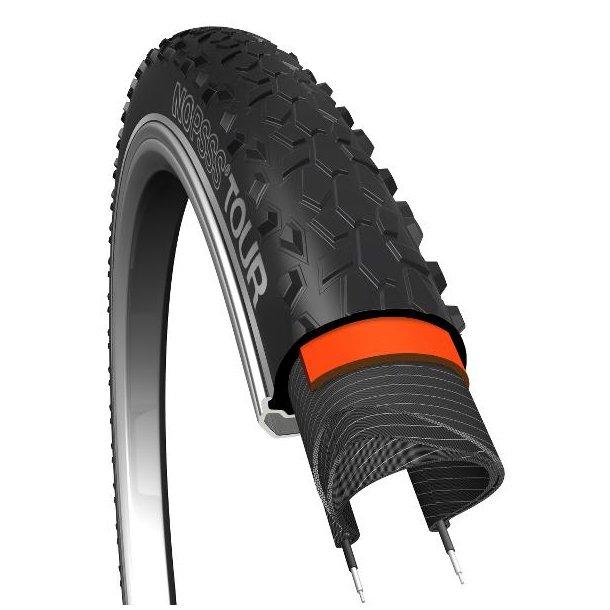 Dæk 29x2,10 NoPssss Tour  BikePartner Sort R, 3mm, 60TPI  Org. nr. (54-622)