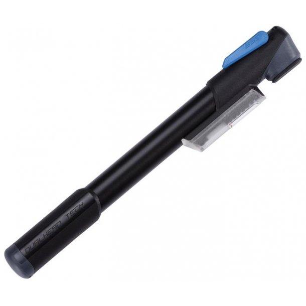 Pumpe BBB mini-Windgun. Alu m.manom. 7 bar/100psi (280mm)