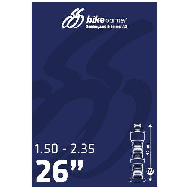Slange 26x1,50-2,35 DV40  40/60-559  BikePartner