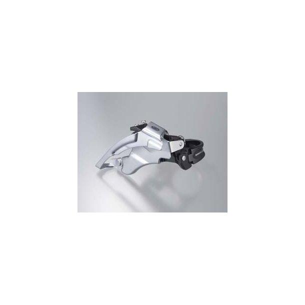 Forskifter FD-M590 Shimano Deore 34.9mm Sølv Trippel