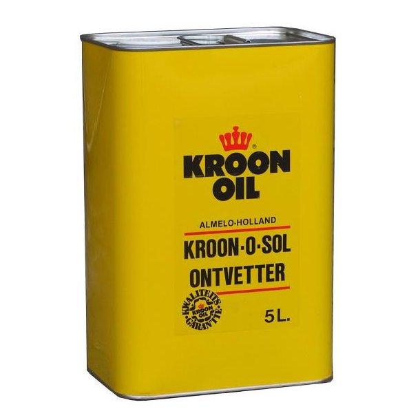 Rensevæske/affedtnings vædske  KROON-O-SOL 5L