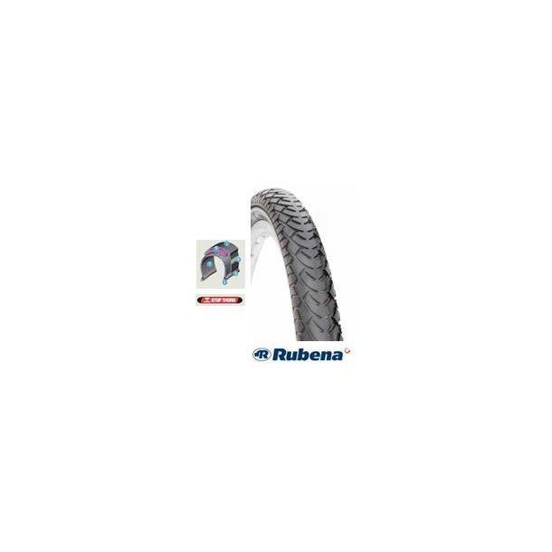 Rubena/Mitas 700 X 42C Dæk med refleks sider, sort