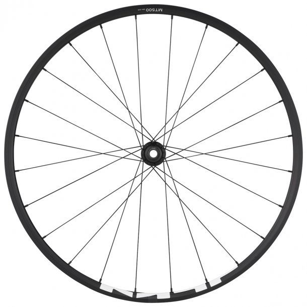 Forhjul Sort, Shimano WH-MT500 29 15x110mm sort