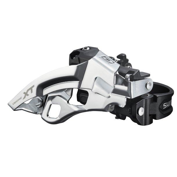 Forskifter Trippel Sølv Shimano XT FD-M780 34.9mm CB TS Dual Pull
