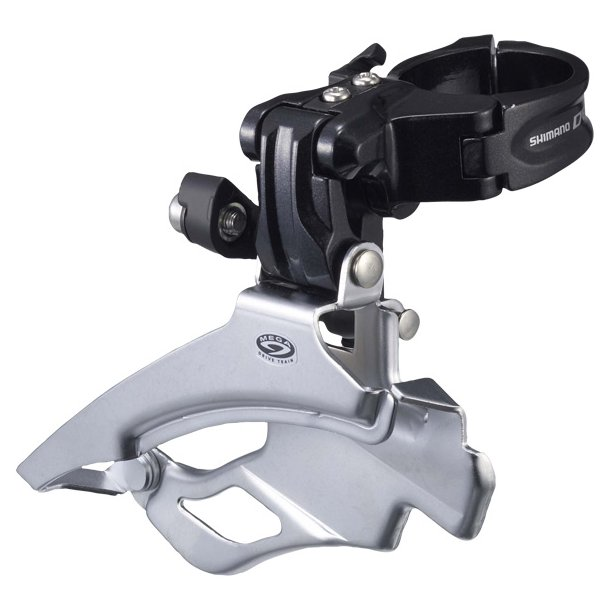 Forskifter Shimano Deore Trippel Sølv FD-M590 34.9mm CB DS DP 66-69