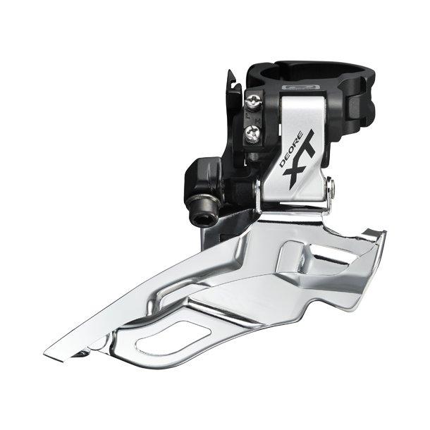 Forskifter Trippel Shimano XT Sølv FD-M781 XT 34.9mm CB DS Dual Pull