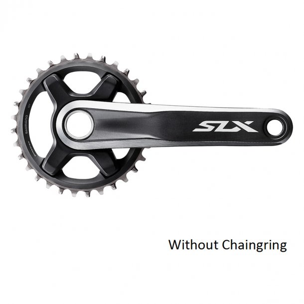 Kranksæt SLX M7000 (vælg pedalarm længde) Single XC Uden Drev 11-sp