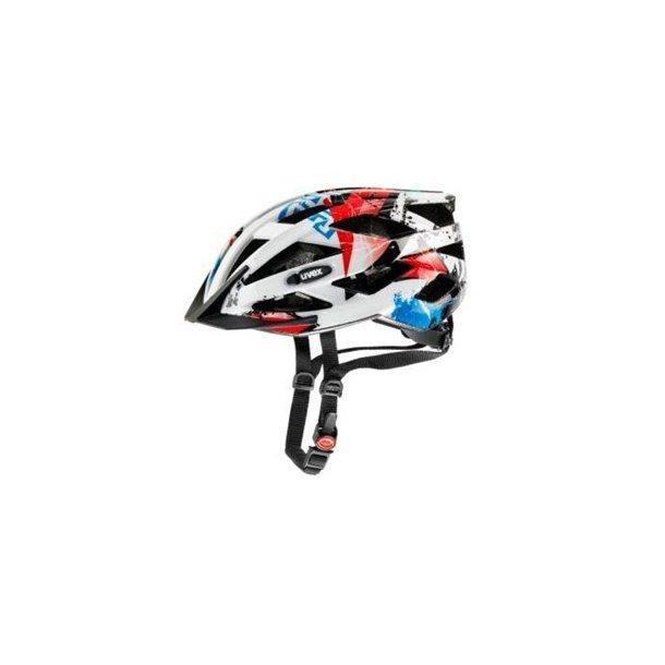 Junior hjelm, Uvex Air Wing Hvid Rød Blå